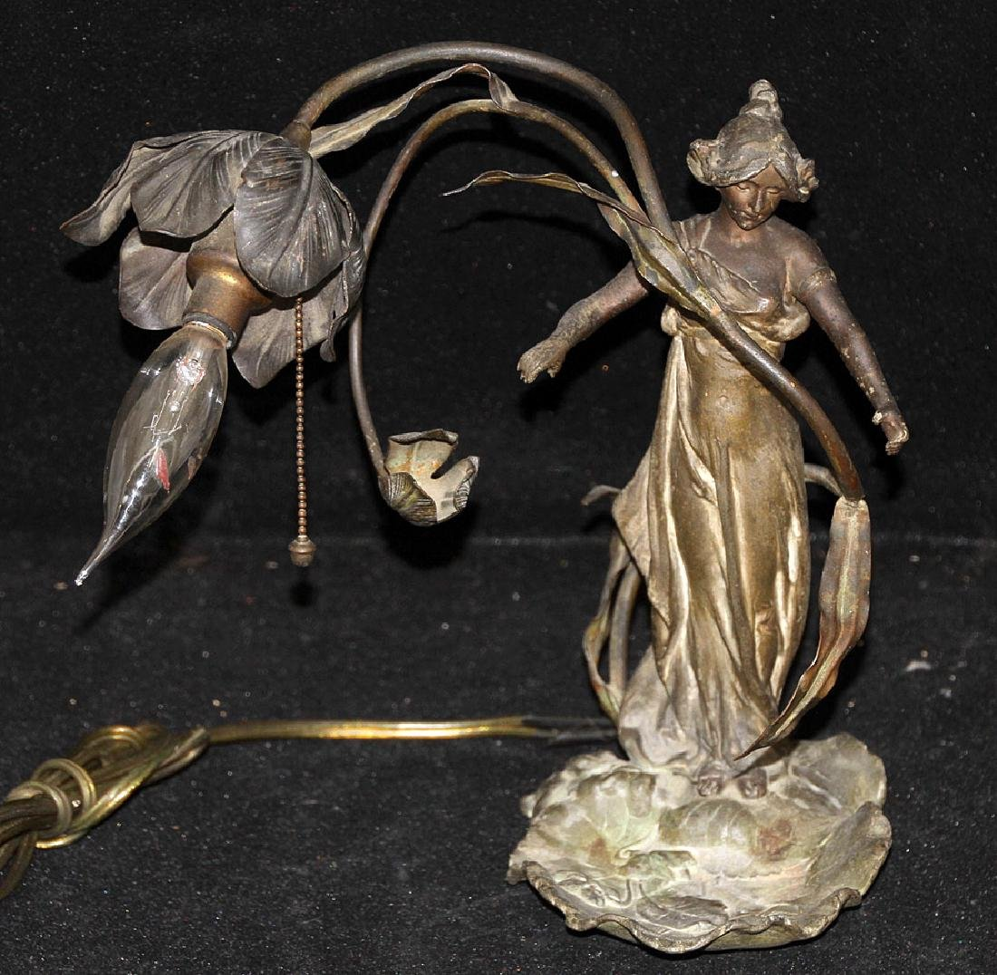 Alfred Foretay Figural Lamp