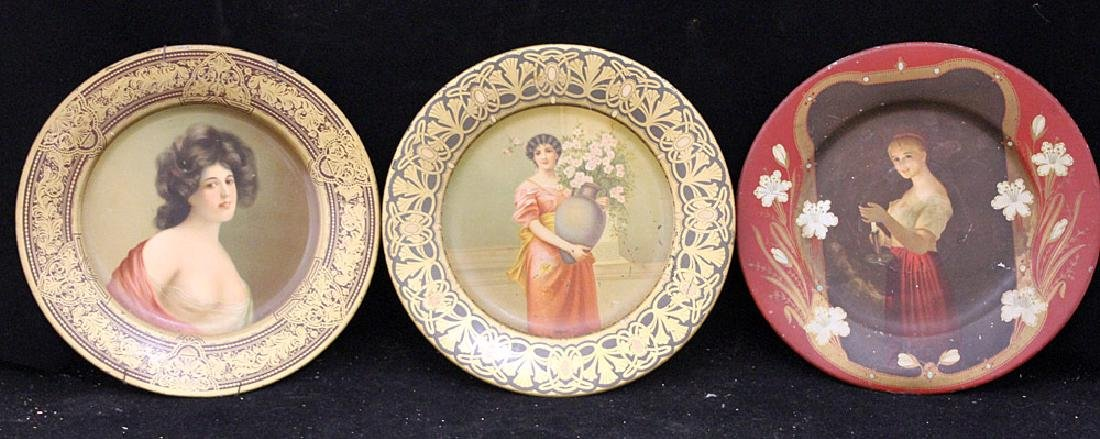 Three Vienna Art Plates