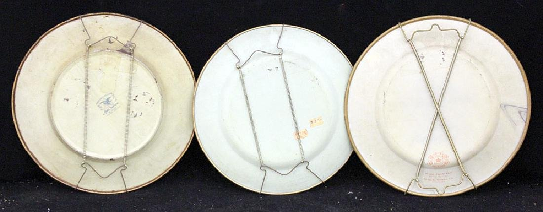 Three Tin Litho Art Plates - 2