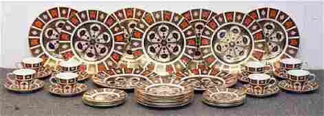 Royal Crown Derby Imari Porcelain Tablewares Set
