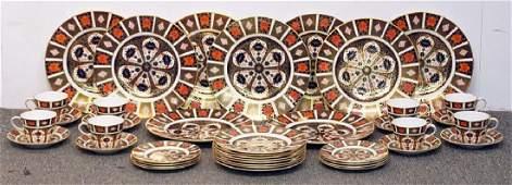 Royal Crown Derby Imari Porcelain Tablewares Set