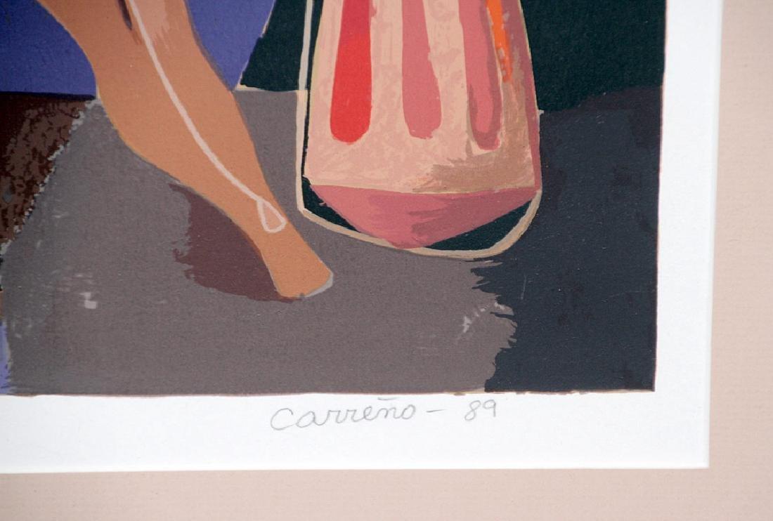 Mario Carreno Lithograph, Persouafis de Coral - 3
