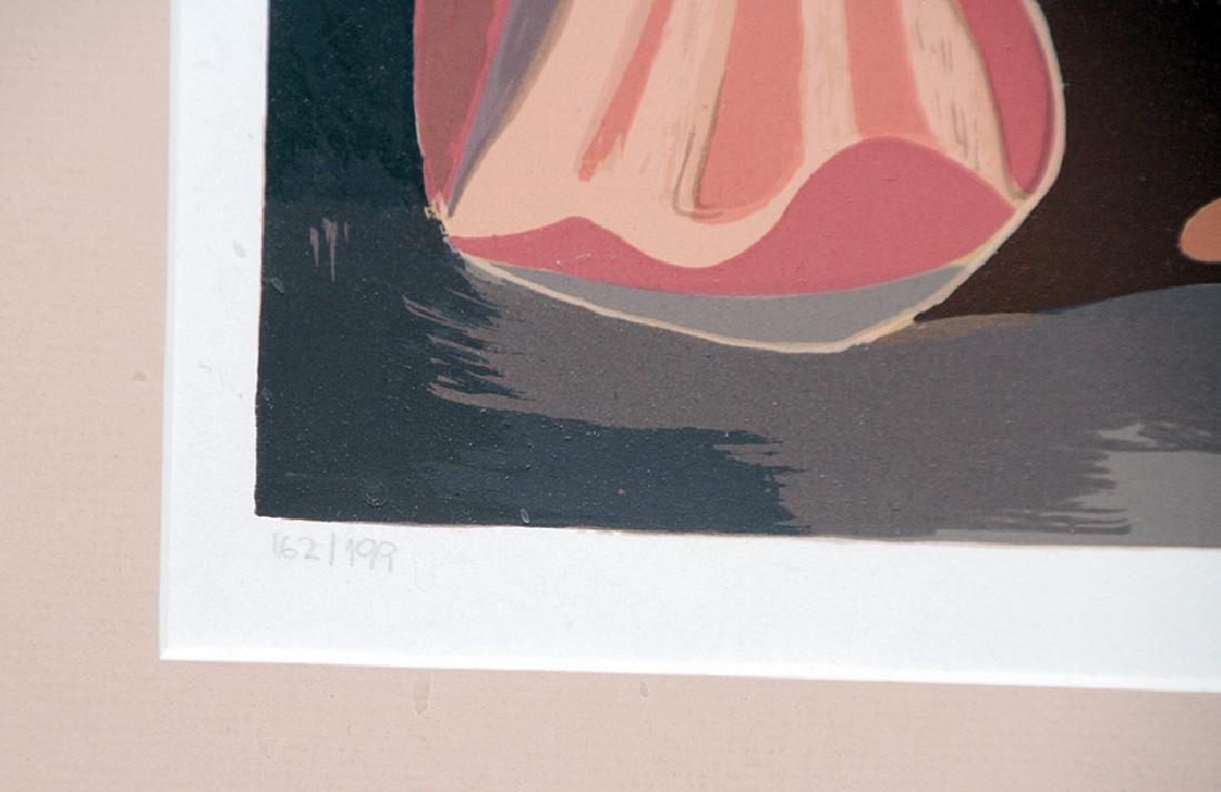 Mario Carreno Lithograph, Persouafis de Coral - 4