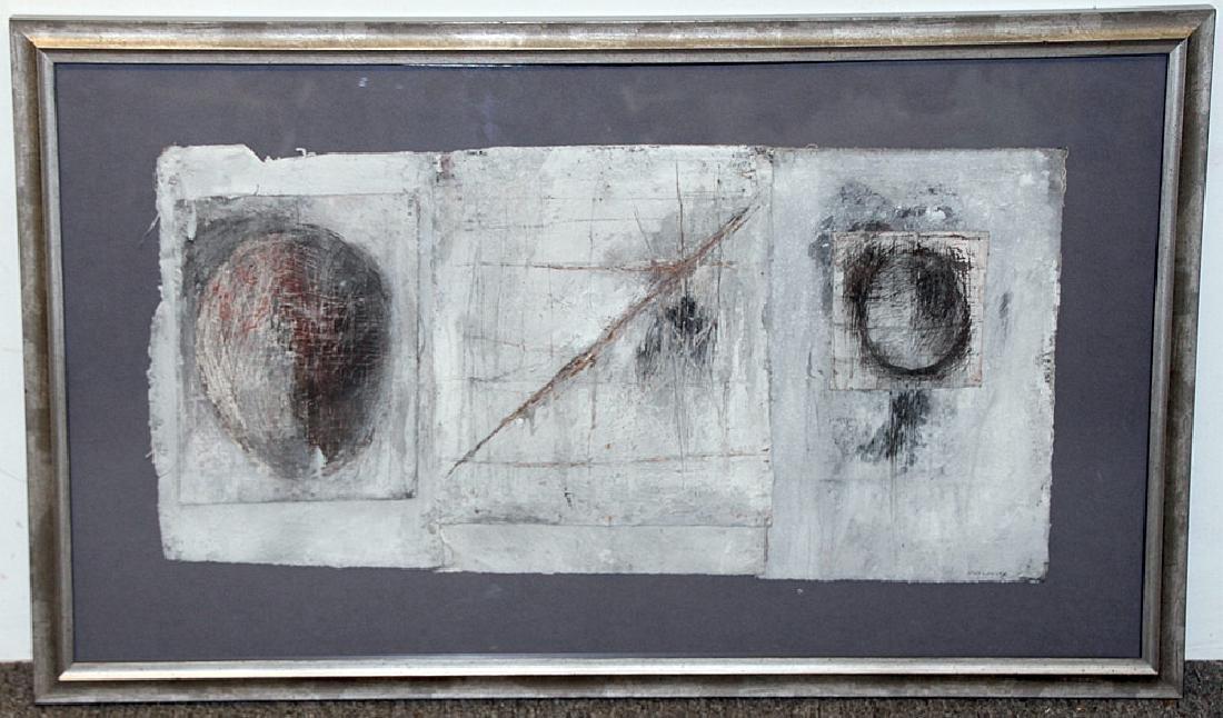 Vivian Wolovitz Mixed-Media on Canvas