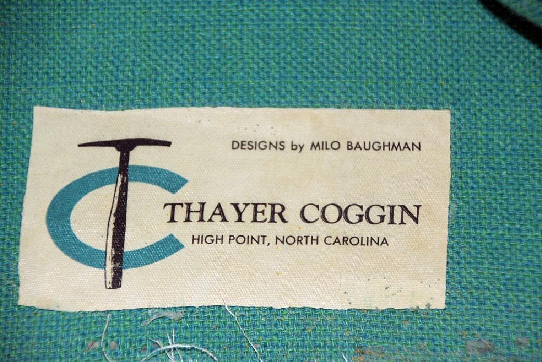 Pair Milo Baughman/Thayer Coggin Club Chairs - 2