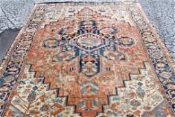 "Antique Serapi Room-size Carpet, 16'6"" x 11'8"""