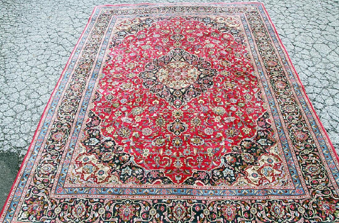 "Persian Kashmar Room-size Carpet, 9'7"" x 13'"