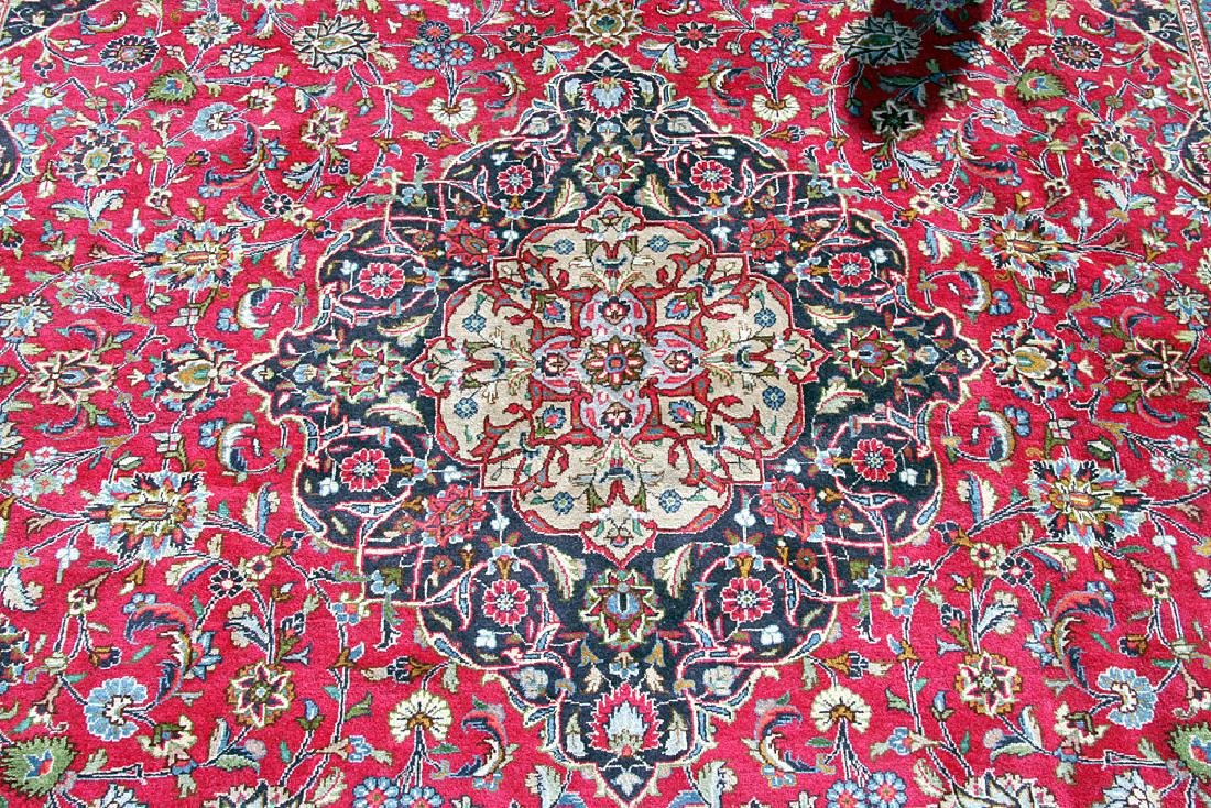 "Persian Kashmar Room-size Carpet, 9'7"" x 13' - 2"