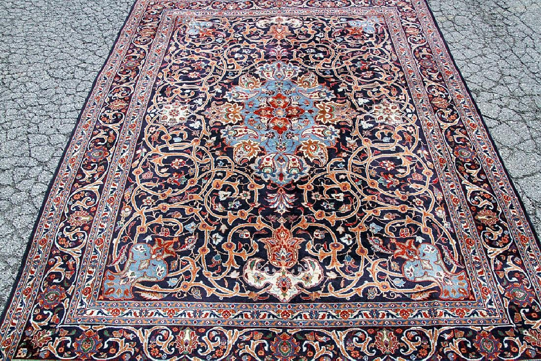 "Persian Mashad Room-size Carpet. 12'9"" x 9'9"""