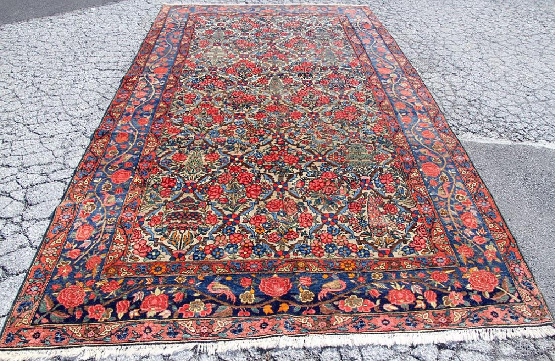 Persian Room-size Carpet, 14' x 7'7""