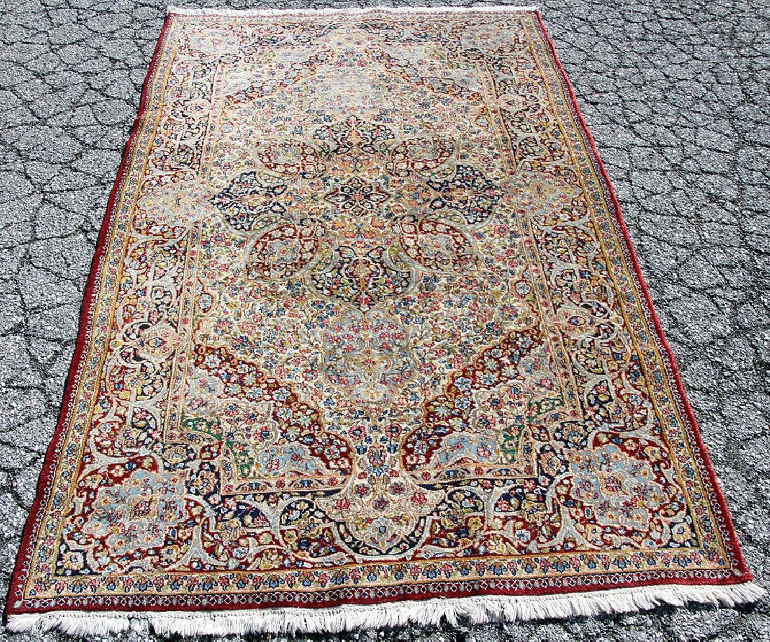 Kirman Area-size Carpet, 8' x 4'11""
