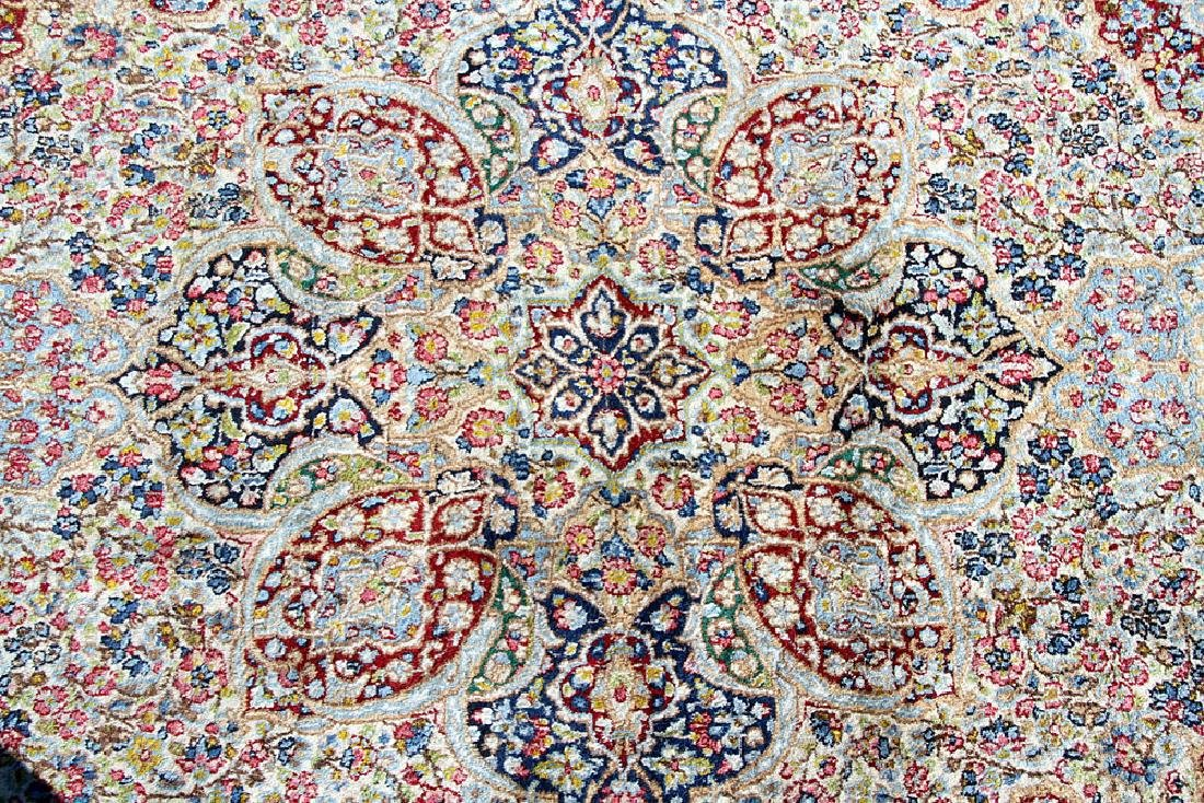 "Kirman Area-size Carpet, 8' x 4'11"" - 2"