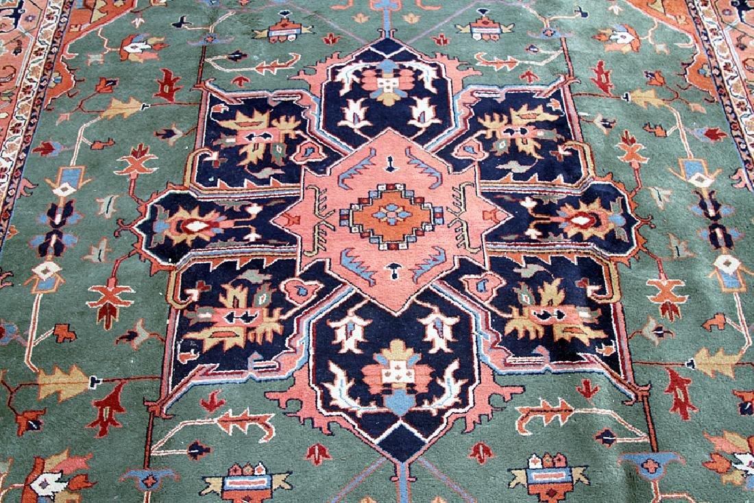 "Persian Heriz-style Carpet, 14'2"" x 9'11"" - 2"