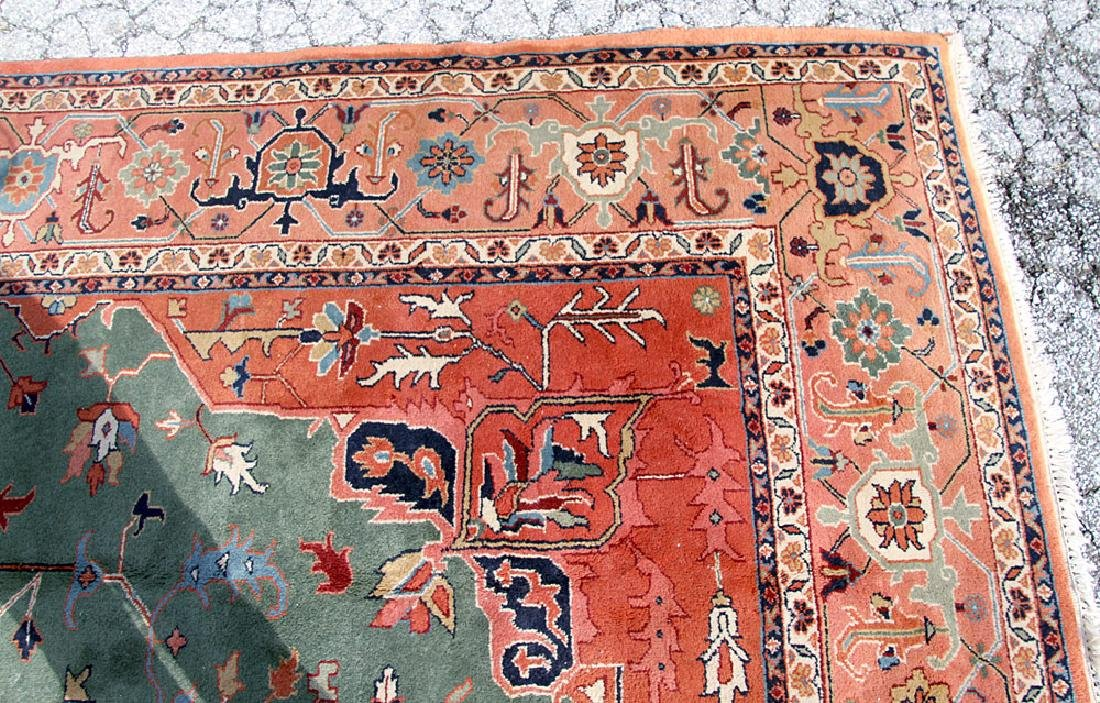 "Persian Heriz-style Carpet, 14'2"" x 9'11"" - 3"