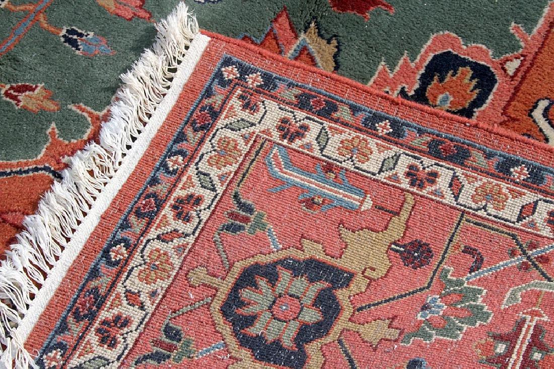 "Persian Heriz-style Carpet, 14'2"" x 9'11"" - 4"