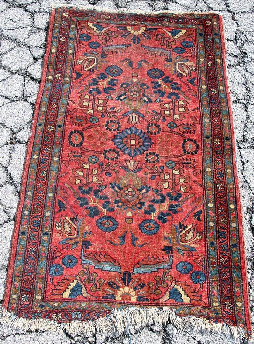 "Persian Mat, 54"" x 32"""