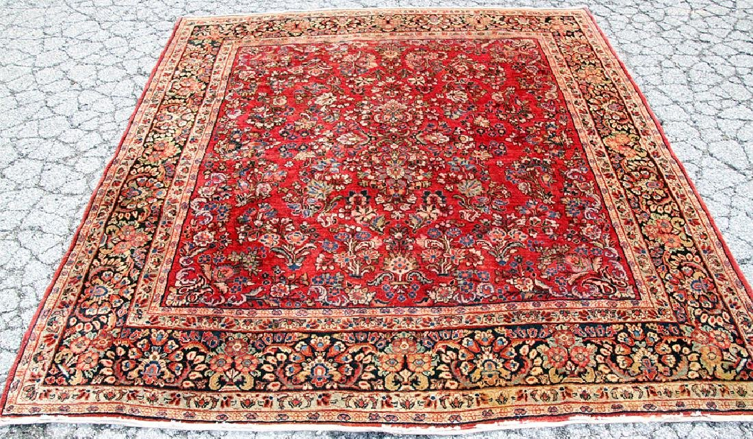 "Sarouk Area-size Carpet, 7'9"" x 7'2"""