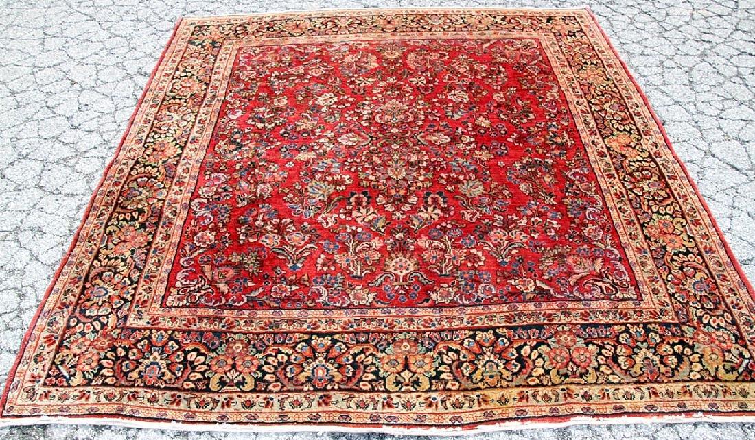 """Sarouk Area-size Carpet, 7'9"""" x 7'2"""""""