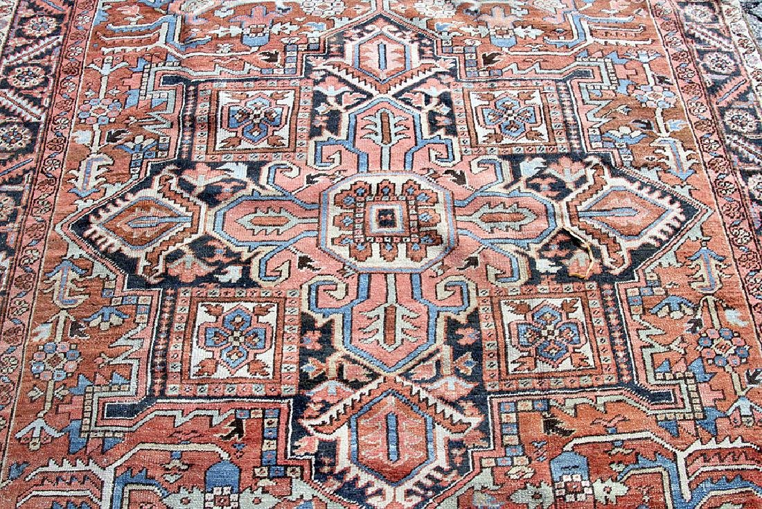 "Antique Heriz Room-size Carpet, 7'11"" x 11'10"" - 2"