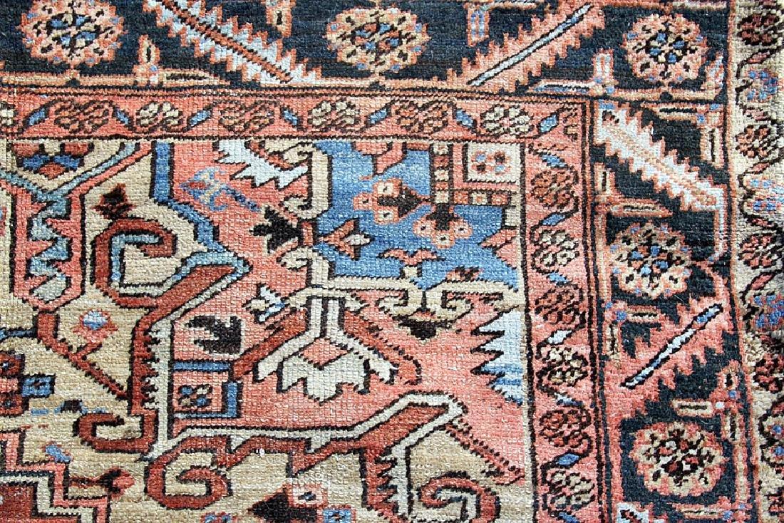 "Antique Heriz Room-size Carpet, 7'11"" x 11'10"" - 4"