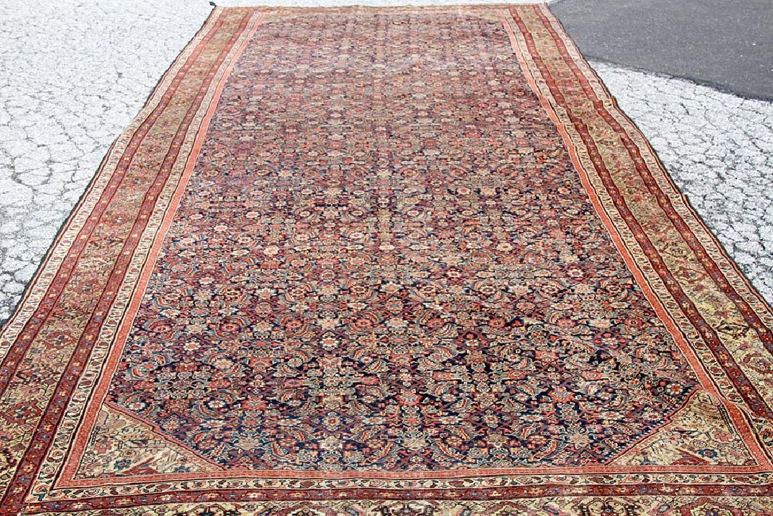 "Antique Persian Room-size Carpet, 19'8"" x 8'7"""
