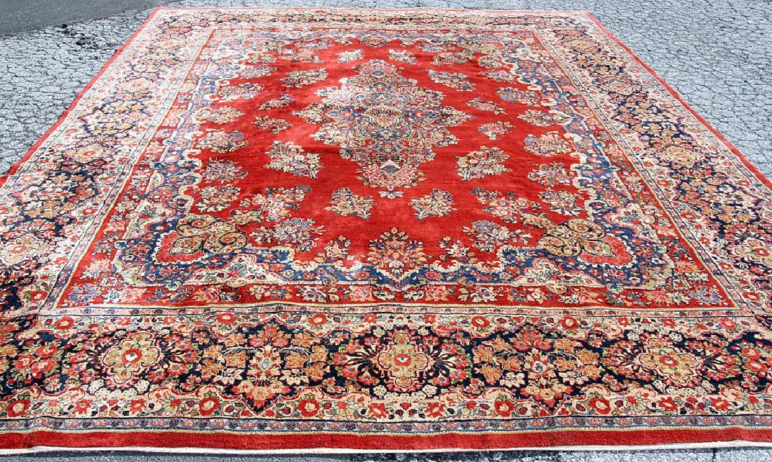 Sarouk Room-size Carpet, 16' x 12'