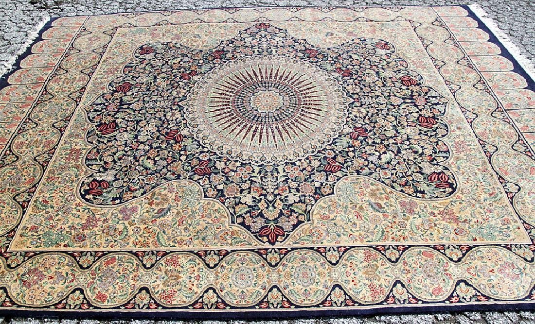 Kirman Room-size Carpet, 9' x 11'7""