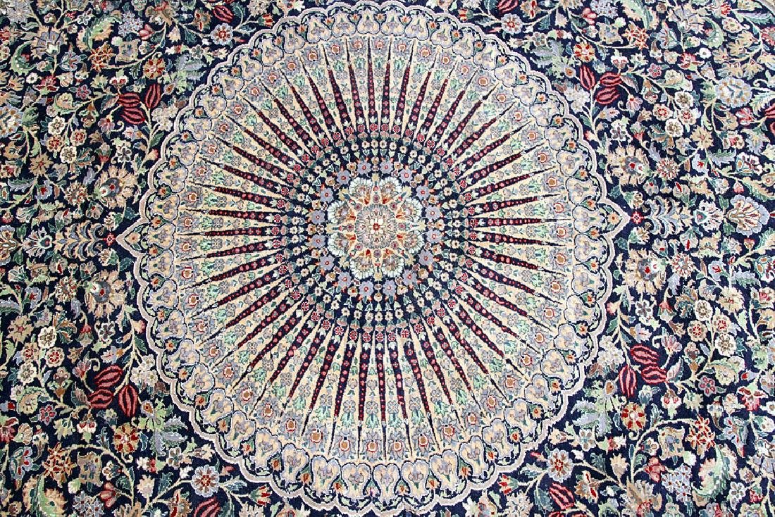 "Kirman Room-size Carpet, 9' x 11'7"" - 3"