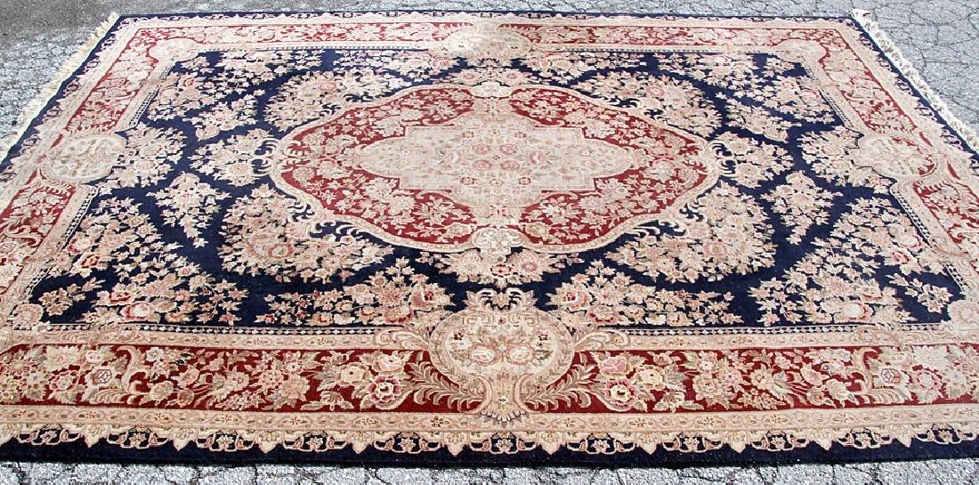 """Aubusson-style Room-size Carpet, 11'10"""" x 8'7"""""""
