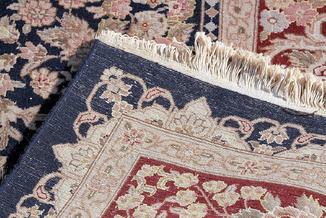 """Aubusson-style Room-size Carpet, 11'10"""" x 8'7"""" - 3"""
