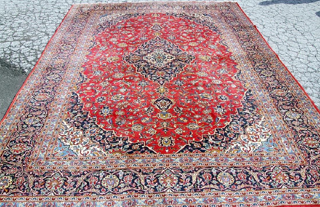 "Oriental Room-size Carpet, 12'4"" x 9'2"""