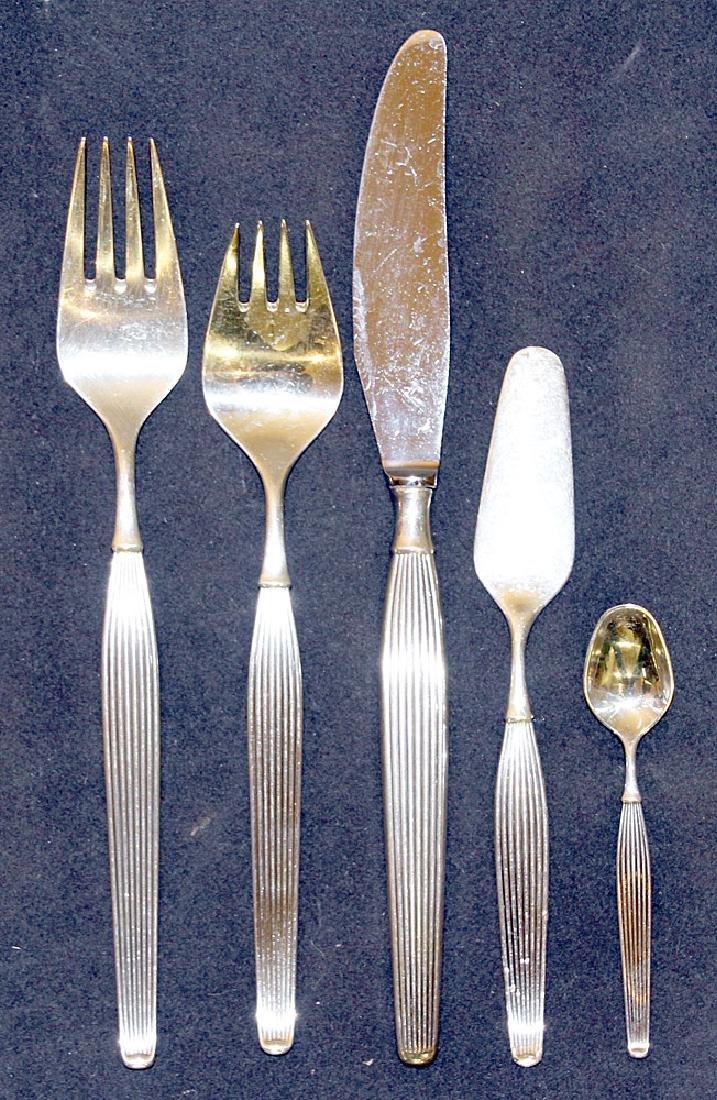 Danish Frigast Sterling Silver Flatware Service