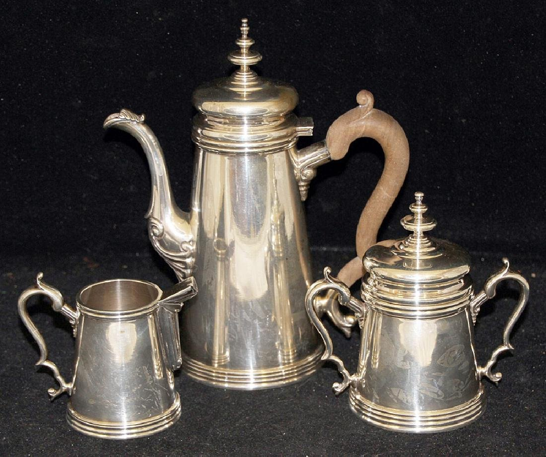 Mexican Sterling Silver Coffee Service