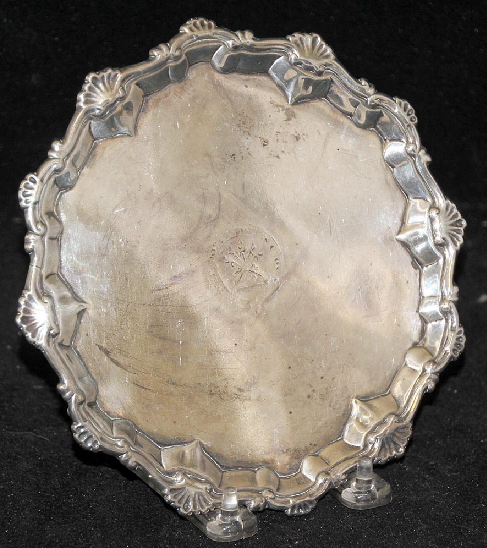 Elizabeth Cooke George III Sterling Silver Salver