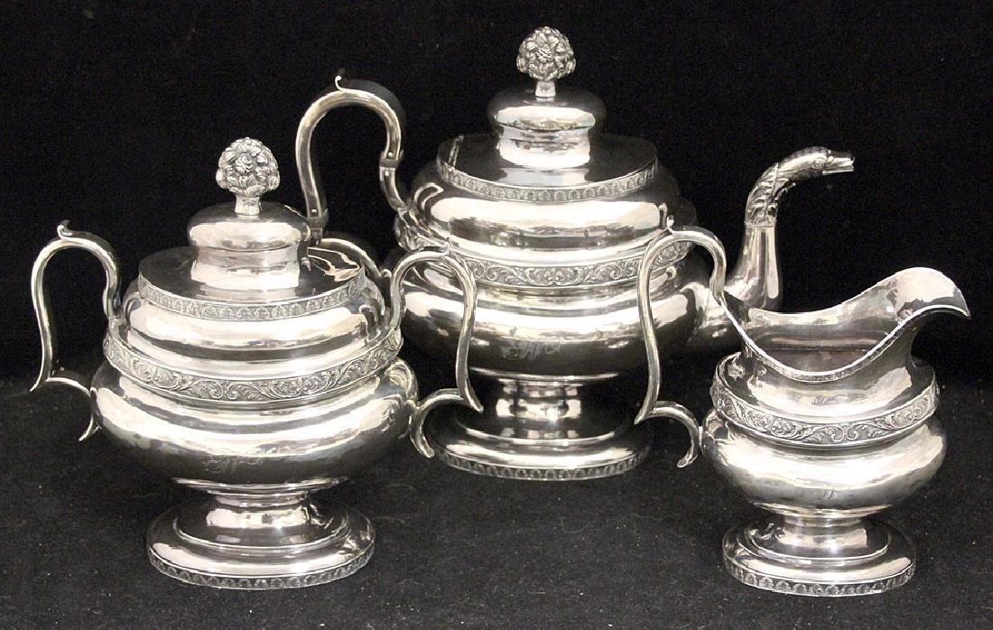 George III Sterling Silver Coffee Service
