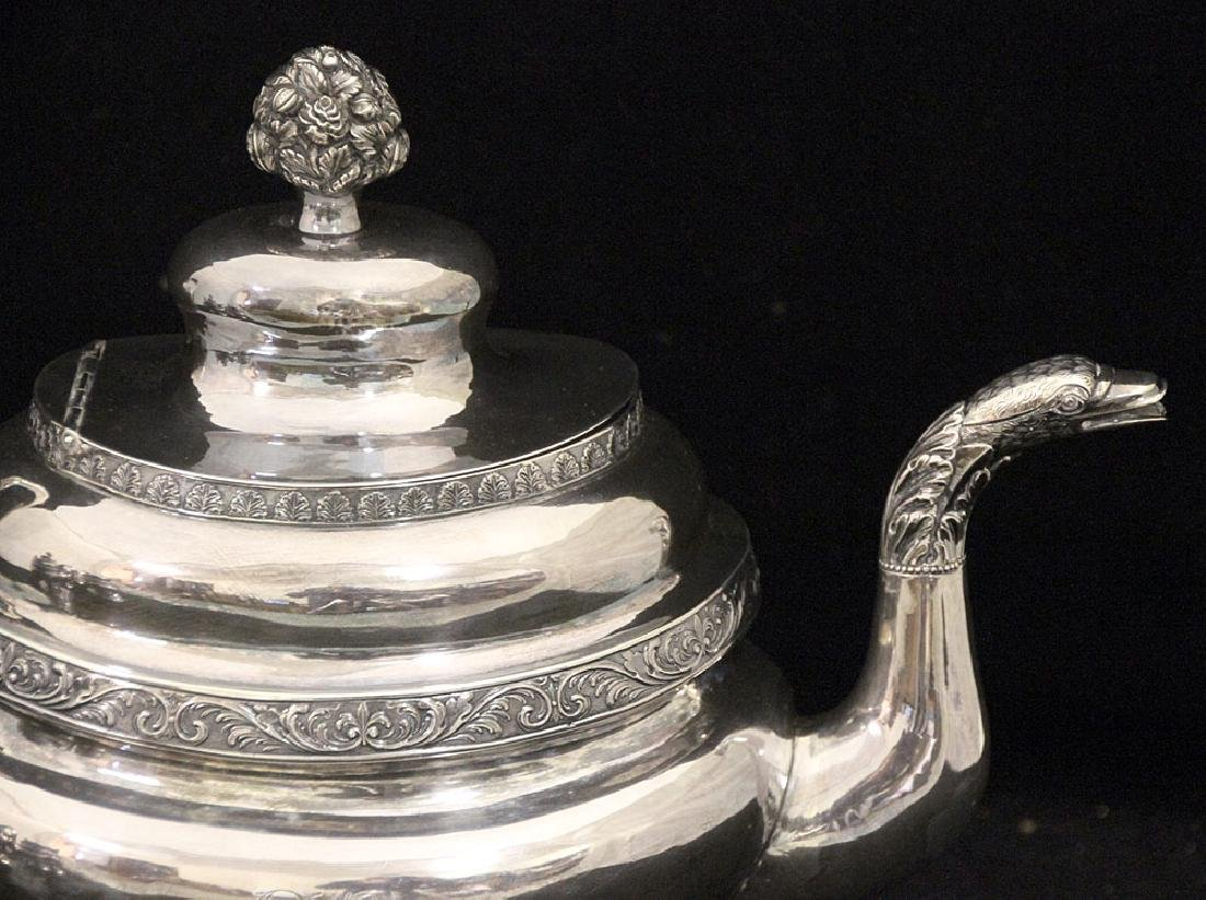 George III Sterling Silver Coffee Service - 2