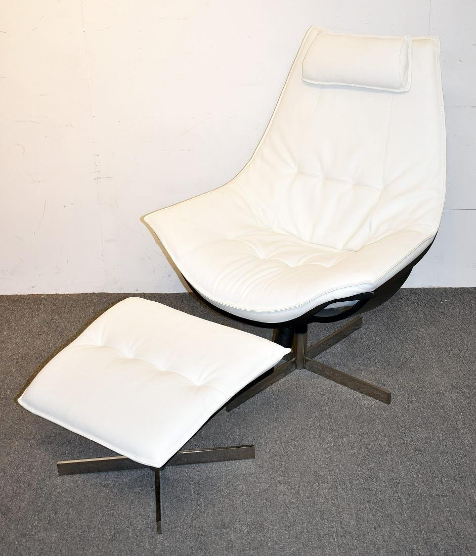 Roche Bobois Lounge Chair and Ottoman
