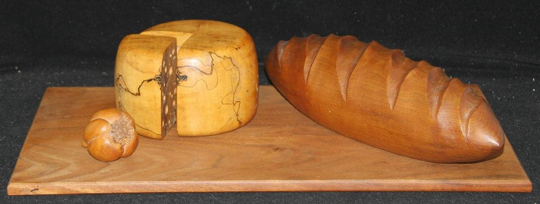 Michelle Holzapfel Bread and Cheese Board