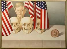 Eileen Kennedy-Dyne Oil/Canvas, Live Free or Die