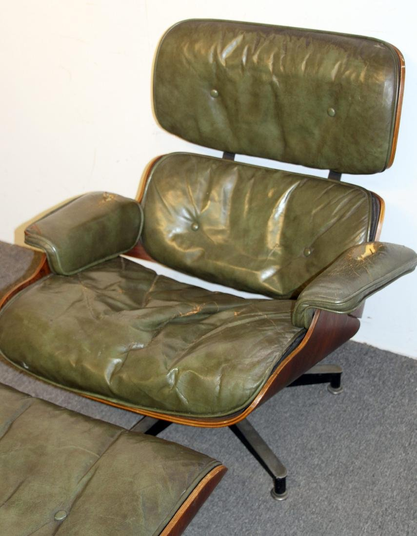 Charles & Ray Eames Lounge Chair and Ottoman - 2