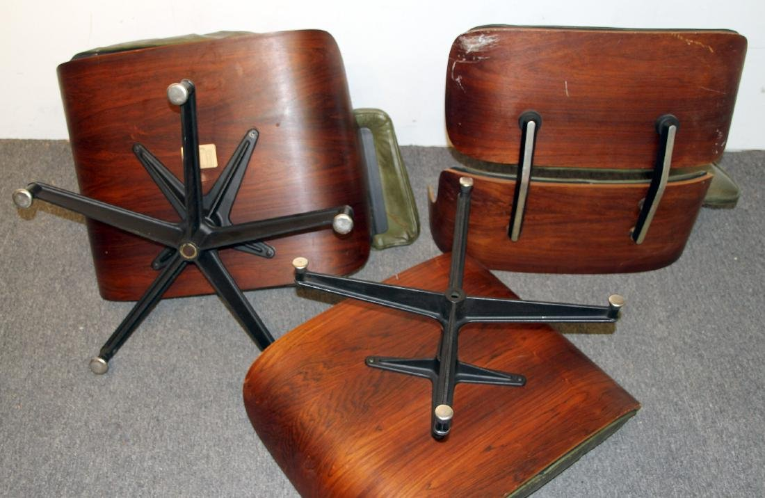 Charles & Ray Eames Lounge Chair and Ottoman - 3