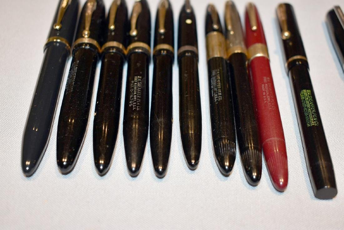 15 Fountain Pens: Sheaffer and Esterbrook - 2