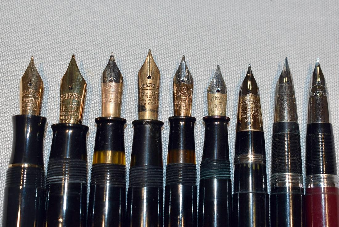 15 Fountain Pens: Sheaffer and Esterbrook - 4