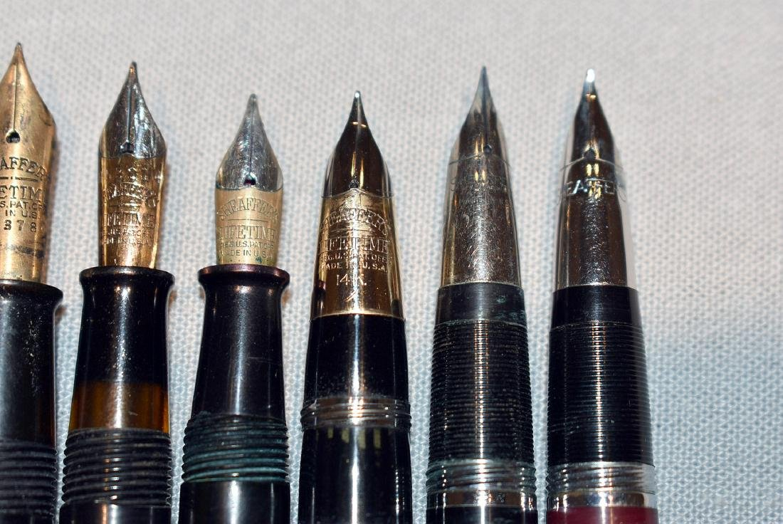 15 Fountain Pens: Sheaffer and Esterbrook - 6