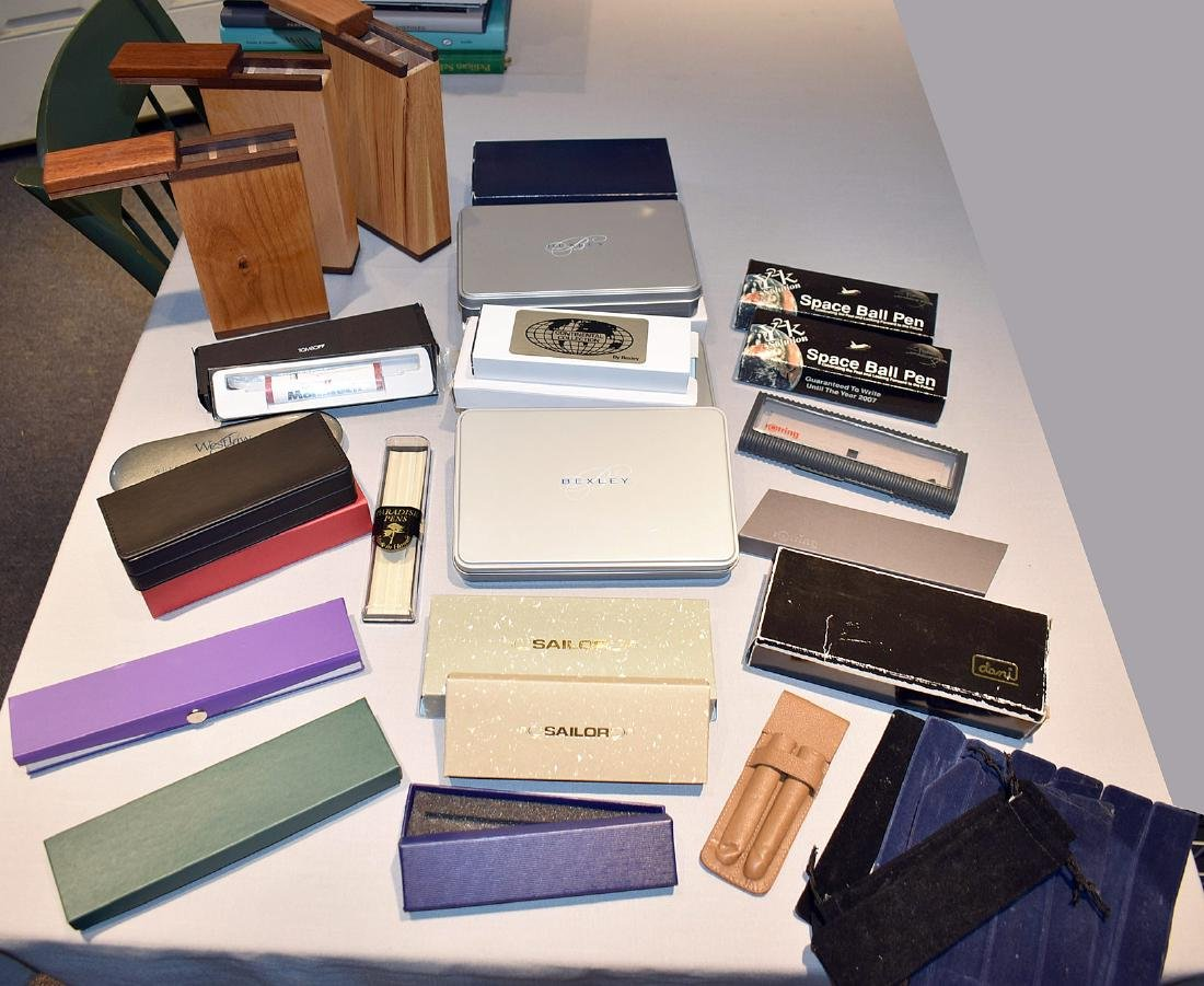 Large lot of mixed pen boxes