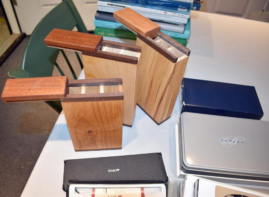Large lot of mixed pen boxes - 2