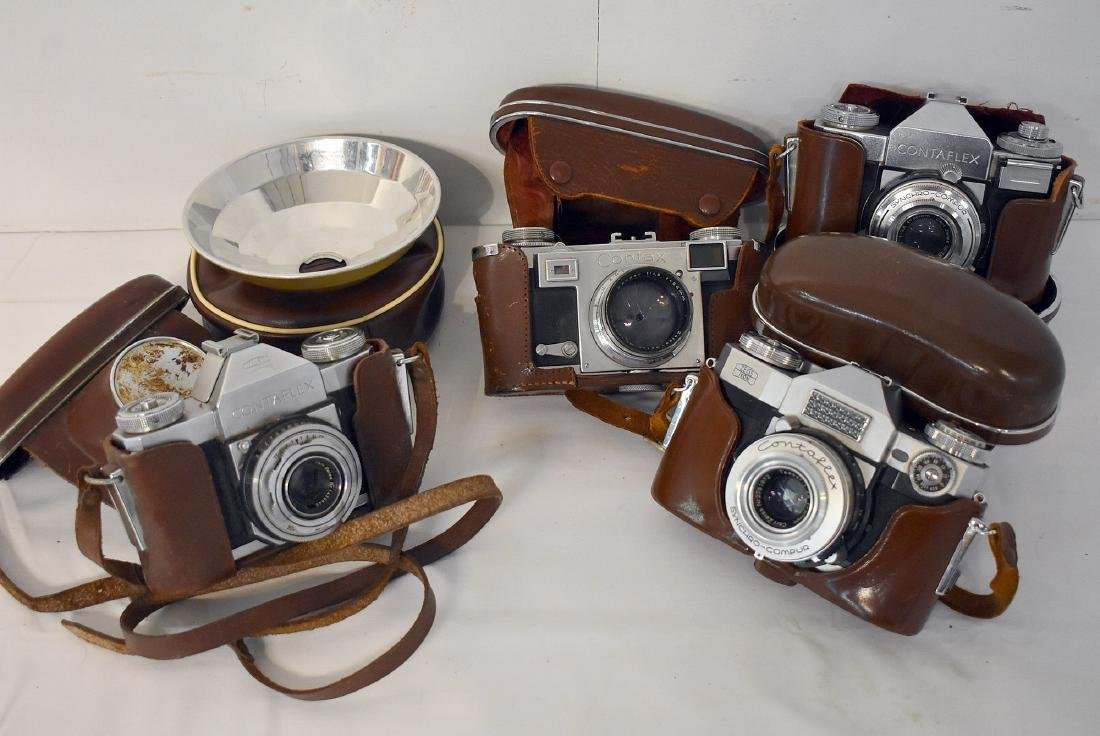 4 Zeiss Ikon Cameras