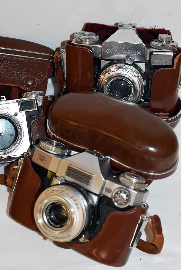 4 Zeiss Ikon Cameras - 2