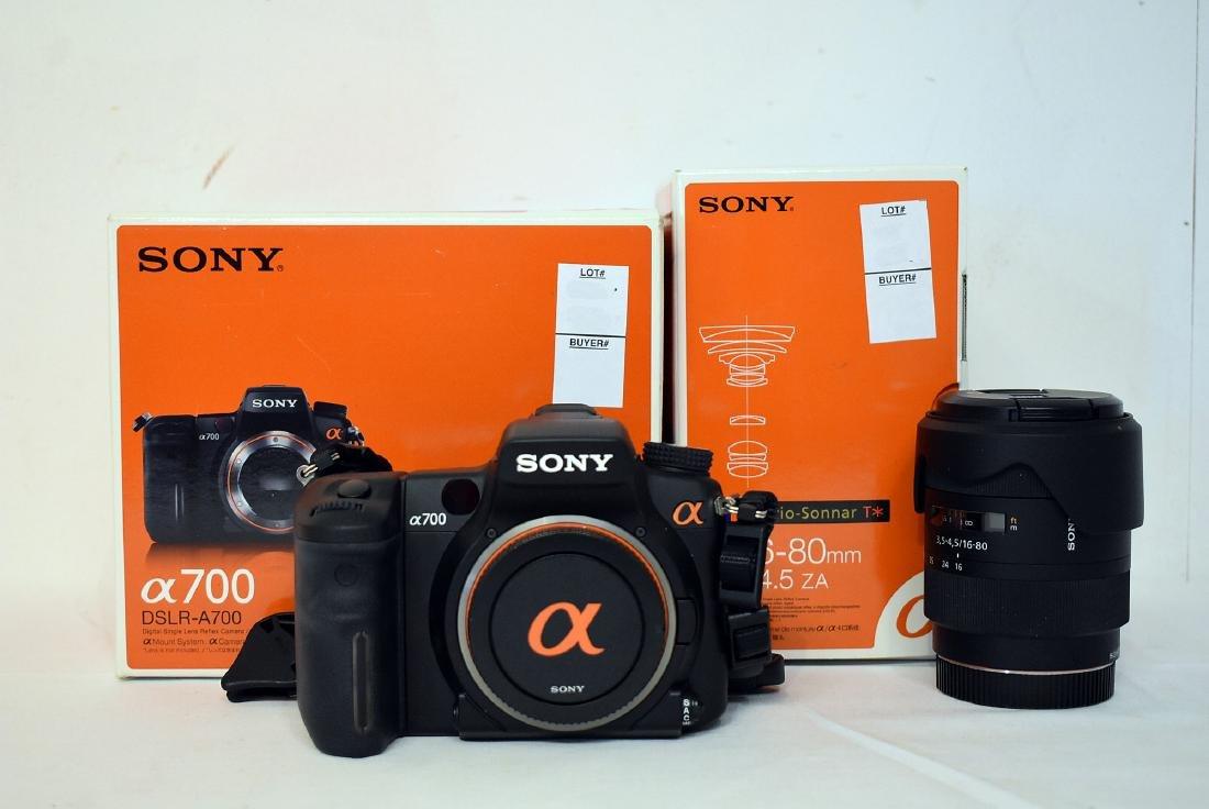 Sony Alpha DSLR-A700 Camera & Lens Model SAL1680Z