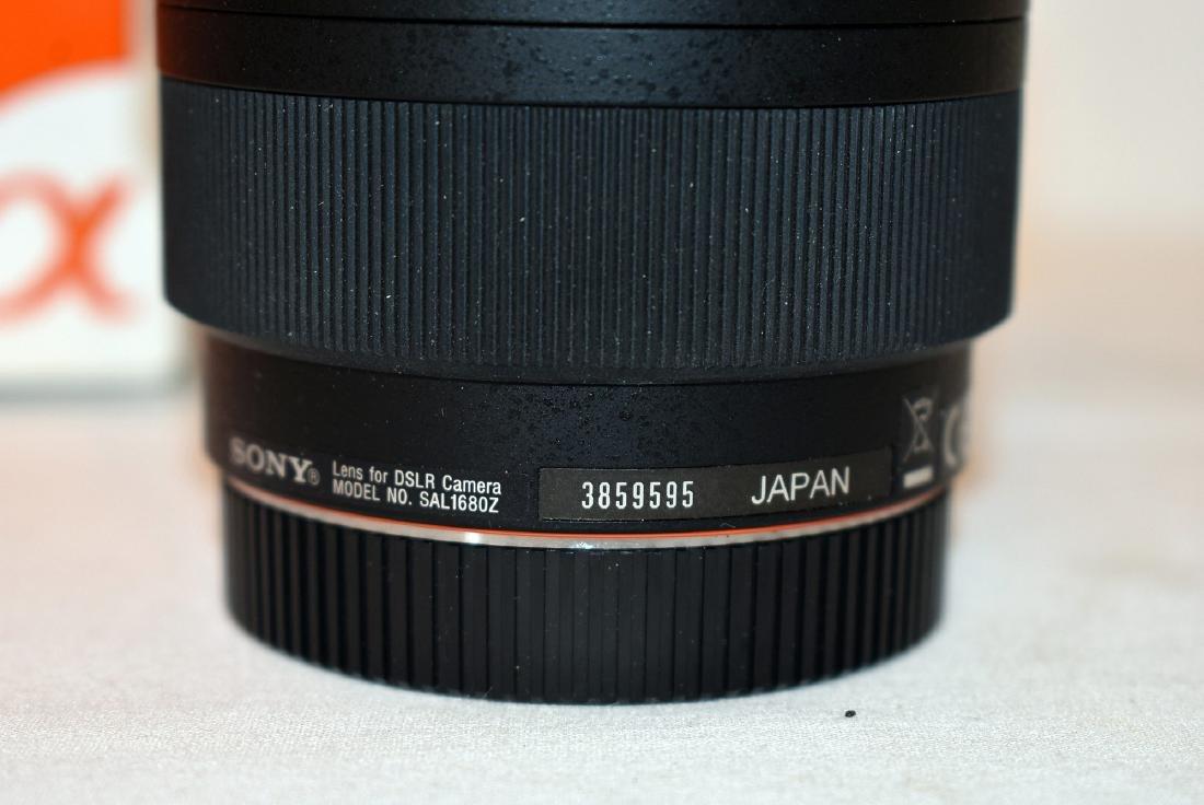 Sony Alpha DSLR-A700 Camera & Lens Model SAL1680Z - 3